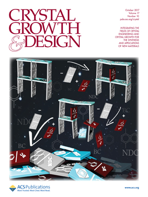 Crystal Growth & Design cover is ours